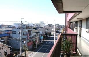 松飛台工業団地方面の風景です